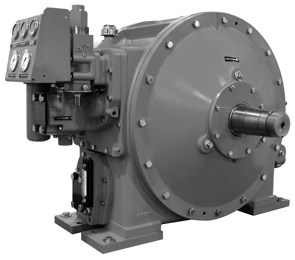 Twin Disc Clutch >> Marines Control Drives | Twin Disc