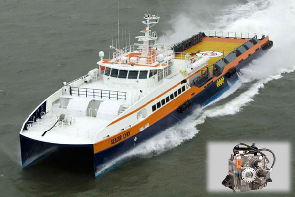"HIGH SPEED CREWBOAT ""SEACOR LYNX"""