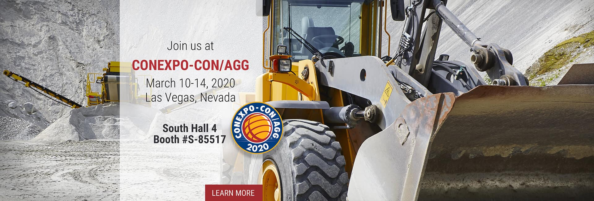 Join us at ConExpo-Con/AGG